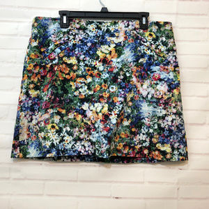Floral Watercolor Skirt Andrea Jovine